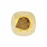 Swarovski puntsteen 4470 Square 10mm Crystal Metallic Sunshine