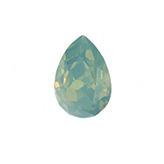 Swarovski puntsteen 4320 Drop 14x10mm Pacific Opal
