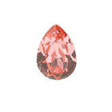 Swarovski puntsteen 4320 Drop 14x10mm Rose Peach