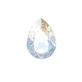 Swarovski puntsteen 4320 Drop 14x10mm Crystal Moonlight