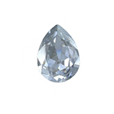 [SW7220] Swarovski puntsteen 4320 Drop 14x10mm Crystal Blue Shade