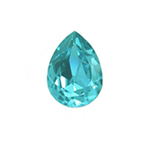 Swarovski puntsteen 4320 Drop 14x10mm Light Turquoise