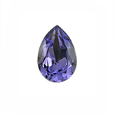 Swarovski puntsteen 4320 Drop 14x10mm Tanzanite