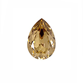Swarovski puntsteen 4320 Drop 14x10mm Light Colorado Topaz