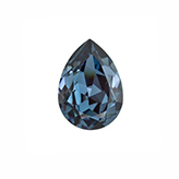 Swarovski puntsteen 4320 Drop 14x10mm Denim Blue