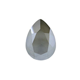 Swarovski puntsteen 4320 Drop 14x10mm Crystal Dark Grey Shiny