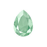 Swarovski puntsteen 4320 Drop 14x10mm Crystal Mint Green