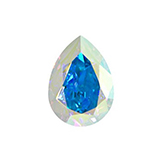 Swarovski puntsteen 4320 Drop 14x10mm Crystal AB
