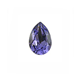 Swarovski puntsteen 4320 Drop 8x6mm Tanzanite