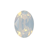 Swarovski puntsteen 4120 Oval 14x10mm White Opal