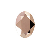 Swarovski puntsteen 4120 Oval 14x10mm Crystal Rose Gold