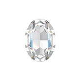 Swarovski puntsteen 4120 Oval 14x10mm Crystal