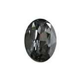 Swarovski puntsteen 4120 Oval 14x10mm Crystal Silver Night