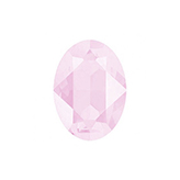 Swarovski puntsteen 4120 Oval 14x10mm Crystal Powder Rose