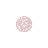 Bohemian tussenstuk rond 20mm Light rose
