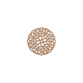 Bohemian tussenstuk rond 20mm Rose Gold