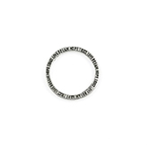 Tussenring love dream hope trust antiek zilver 20mm